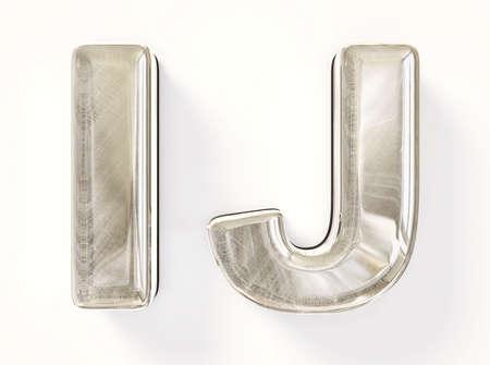 letter liquid water: Carta de Textil aislado en un fondo blanco. Foto de archivo