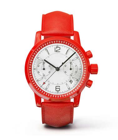 Luxus-Uhr auf einem wei�en Hintergrund Lizenzfreie Bilder