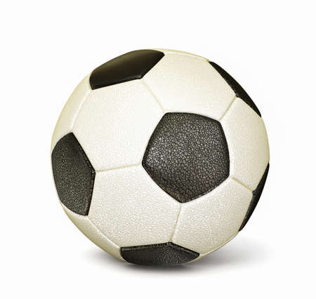 football ball isolated on a white background Stock Photo - 15824787