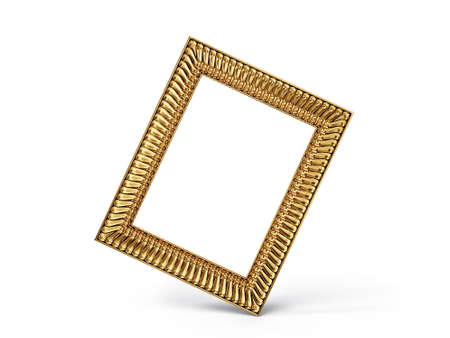 vintage frame isolated on a white background Stock Photo - 17423004