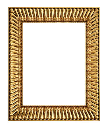 vintage frame isolated on a white background Stock Photo - 17423003