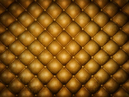 brown upholstery leather, retro style.3d image photo