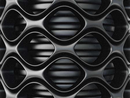 fibra de carbono: fondo negro de la fibra. gran imagen 3d mash