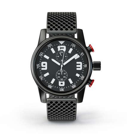 wrist watch isolated on a white background Reklamní fotografie
