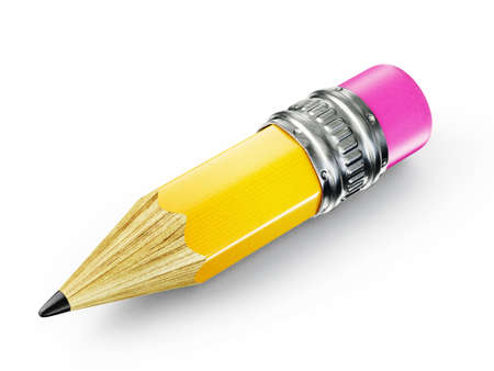 pencil illustration isolated on a white background illustration