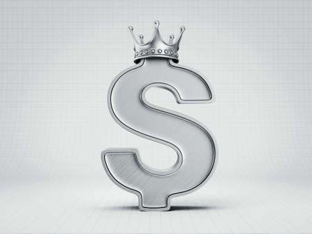 dollar sign: dollar sign isolated on a white background Stock Photo