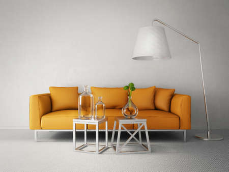 interior render: 3d render. modern interior room with a beautyful furniture.