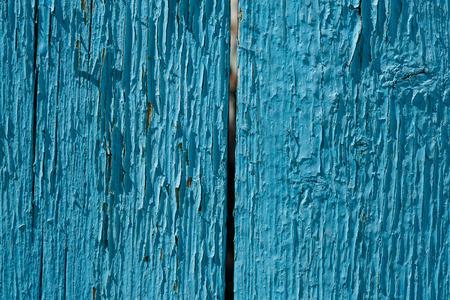 rundown: Texture of blue, wood