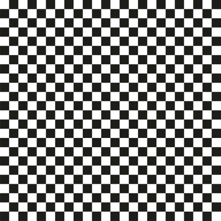 Classic chessboard seamless background. Vector pattern for chess game Vektorgrafik