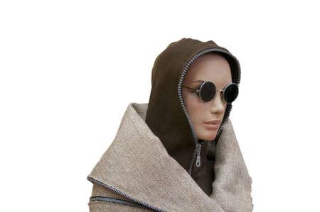 Closeup of a mannequin photo