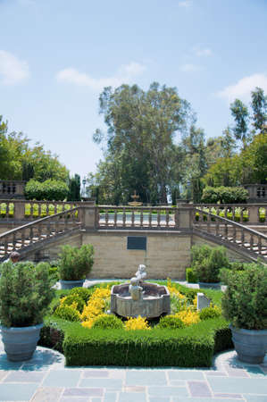 Flowerbeds in one of the park of Los Angeles Stock Photo - 14435712