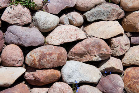 stones in brown colors photo