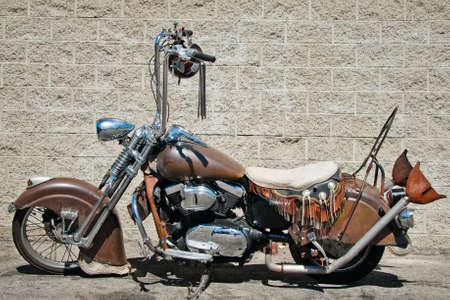 Chrome Dream and American chopper in sunny day