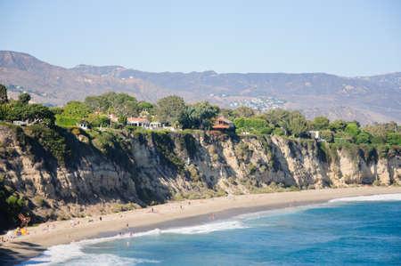 duma: view from Duma Point, Malibu California Stock Photo