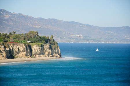 view from Duma Point, Malibu California photo