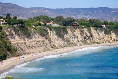 view from Duma Point, Malibu California Stock Photo
