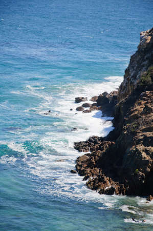 zuma: view from Duma Point, Malibu California Stock Photo