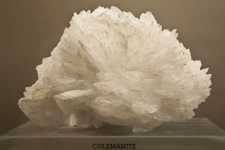 Close up of one the mineral crystal. natural stone Stock Photo