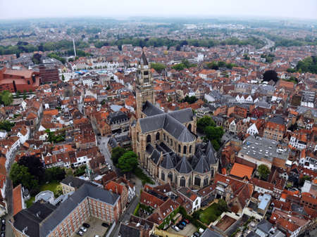 Amazing view from above. So impressive and beautiful Brugge. Medieval history around you.Must see for all explorer. View from Drone. From Belgium with Love.