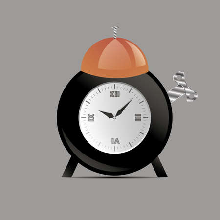 Vector design. Good for icon, logo and wallpers. Flat style for remind to wake up.