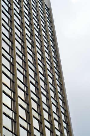 Facade of a high rise building close up 免版税图像