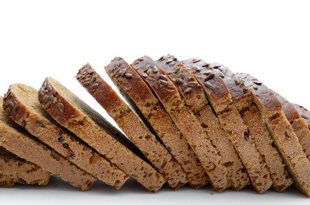 Baking, fresh bread isolated on white background 免版税图像 - 161756833