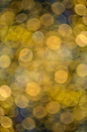 Abstract of colored lights of festive lighting