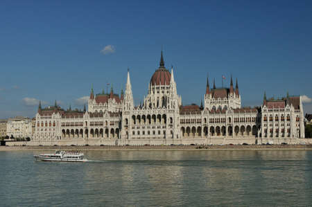 the parliament: Palace of Parliament Budapest Editorial