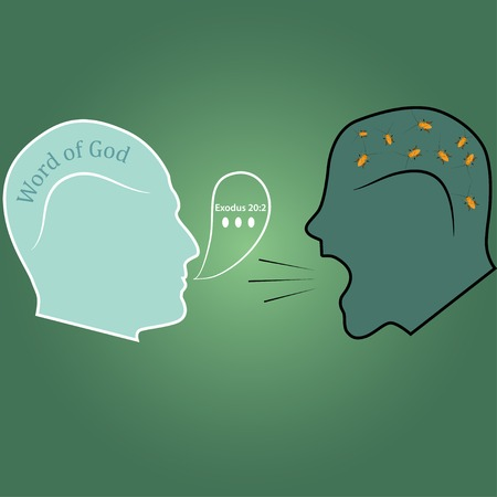 demoniac: Dialogue illustration