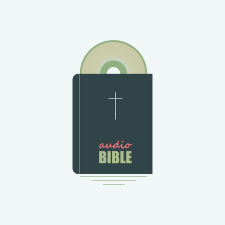 echoes: Bible and the SD disk symbolizing the Bible.