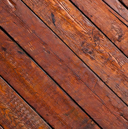 oiled: Old dark varnished wooden planks texture