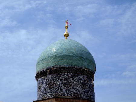 dome: Dome of madrasah Kukeldash