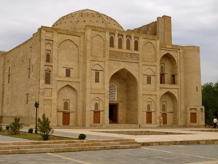 divan: Nadir Divan Begi Khanaka, Bukhara, Uzbekistan Editorial