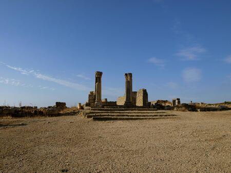 volubilis: Roman ruins of Volubilis Stock Photo