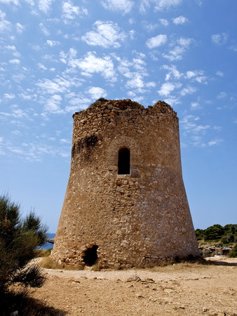 pi: Tower of Cala Pi Mallorca