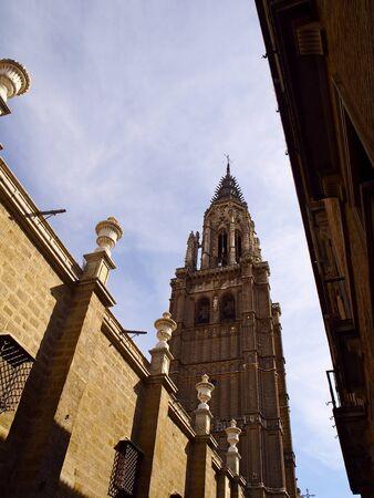 toledo: Cathedral of Toledo Stock Photo