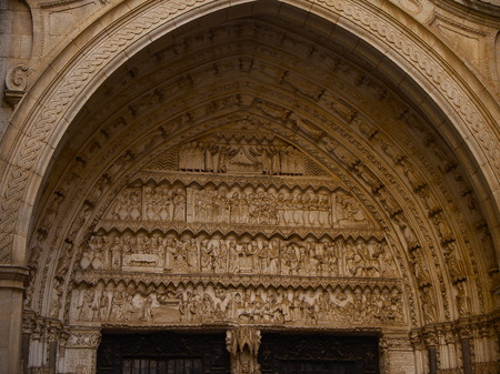 quenching: Cathedral of Toledo Stock Photo