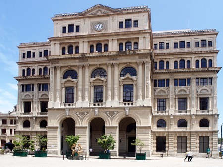 chamber: The Chamber of Commerce building in Old Havana, Cuba