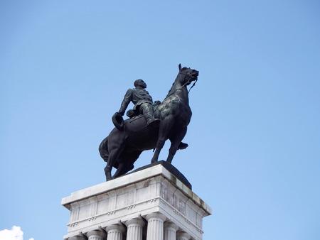 maximo: General Maximo Gomez statue Stock Photo