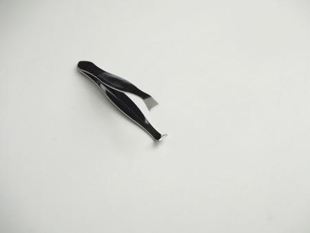 pinzas: Pinzas en el fondo blanco
