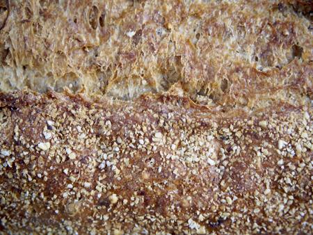 rustic: Rustic bread texture