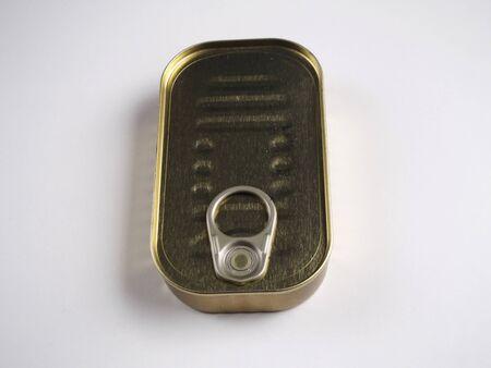 tin: Isolated tin can