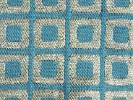 tissu or: Bleu et drap d'or texture Banque d'images