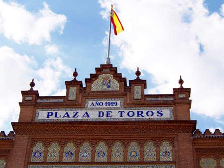 las ventas: Las Ventas bullring in Madrid -Spain