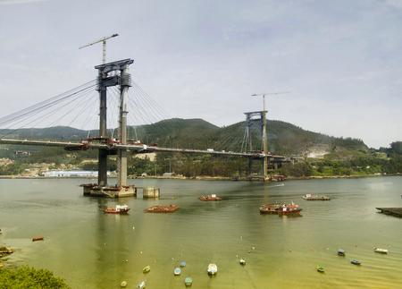 Randebrug in Vigo