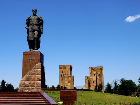 Ak Saray Palace - Shakhrisabz in Uzbekistan Editöryel