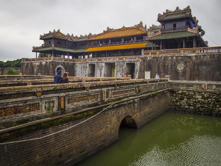 Hue Citadel in Vietnam