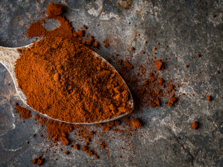 Spanish Spice Natural Sweet Dried Red Sweet Pepper Powder Imagens