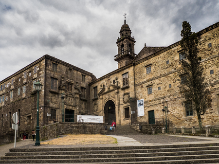 Santiago de Compostela - Spain, June 15, 2019 - Museum of the Galician People building in Santiago de Compostela - Spain