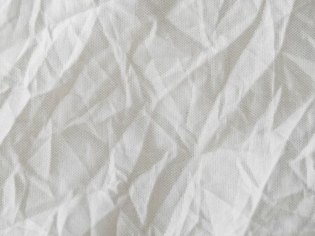 Fabric that looks like crumpled paper texture